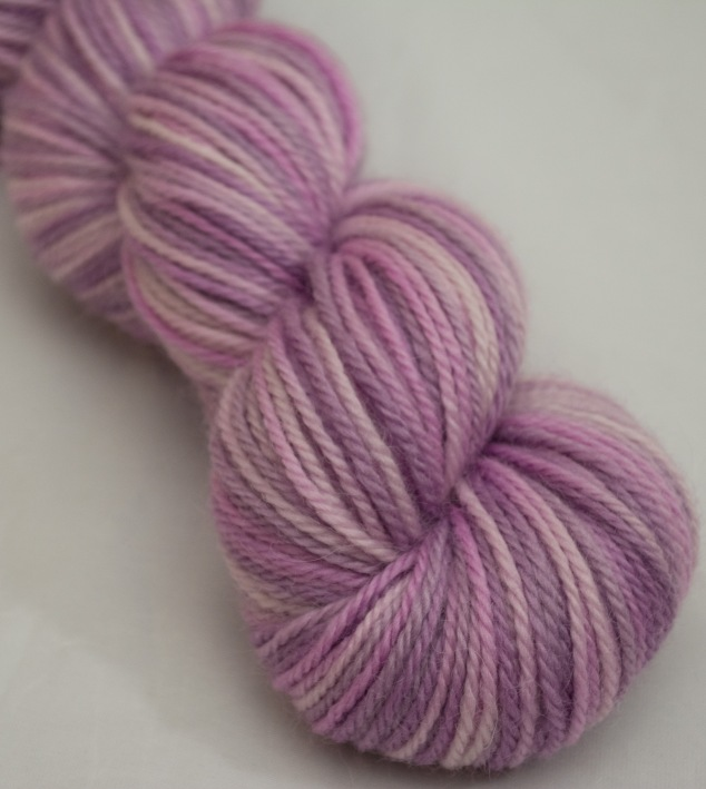 And a single skein of this beautiful colourway for my friend's little girl. I will go and dream over little dress patterns soon!